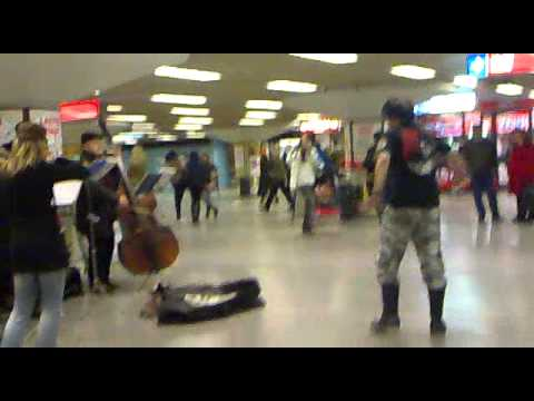 helsinki central station - the craziest people in the world