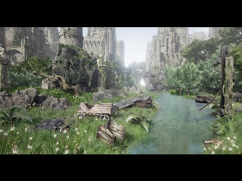 Castle Valley Speed Level Design Unreal Engine 4 Youtube
