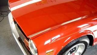 Carnauba wax @ Eclectic Cars. TR6 Video