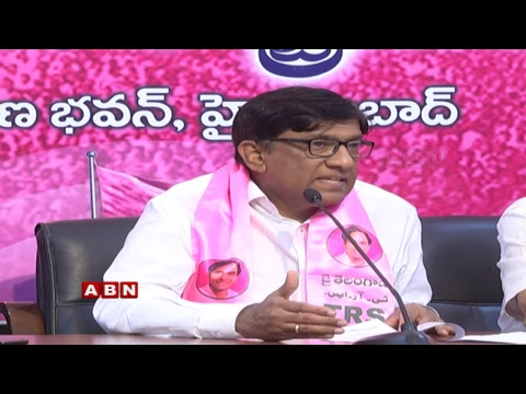 MP Vinod Kumar Holds a Press Meet From Telangana Bhavan | ABN Telugu