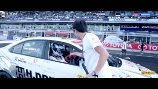 toyota vios one make race 2014 at chang international circuit round 4 h drive racing