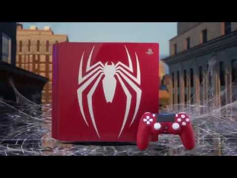 New PS4 PRO Console Amazing Spider Man - Preorder now