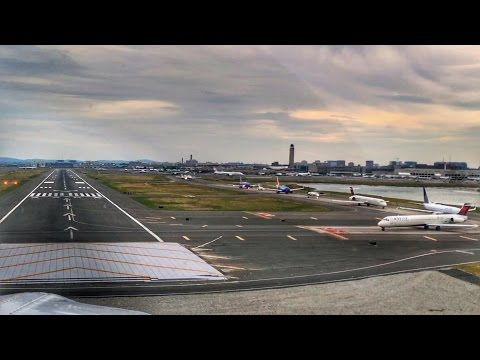 Landing at a Busy Class Bravo Airport - Flight VLOG #1 - Boston Logan