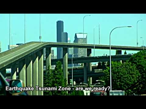Earthquake Tsunami Zone - North America