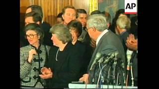 USA: PRESIDENT CLINTON IMPEACHMENT TRIAL LATEST