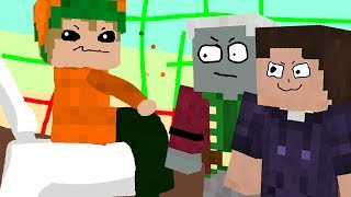 Ich sitz auf dem Klo 「Minecraft: JumpWorld」