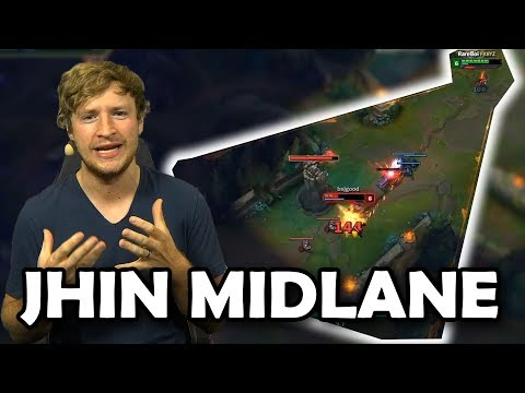 Jhin Midlane - Ein ausgestoßener ADC geht Mid | Guide/Deutsch