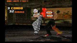 TEKKEN 3 Anna - secret moves, rare custom combos
