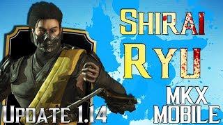 ТАКЕДА СИРАЙ РЮ • Обновление 1.14 • Mortal Kombat X Mobile