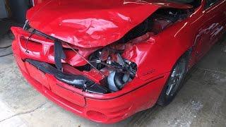 2000-pontiac-grand-am-gt1-light-hit-front-end-repair-time-lapse-video