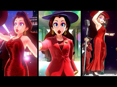 Super Mario Odyssey ALL PAULINE CUTSCENES (Switch)