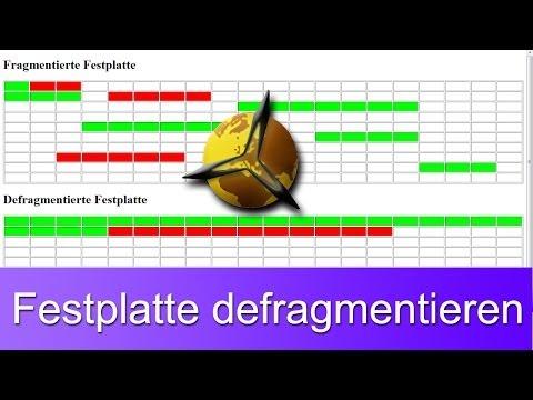 Windows 7: Defragmentieren - Festplatte schneller machen