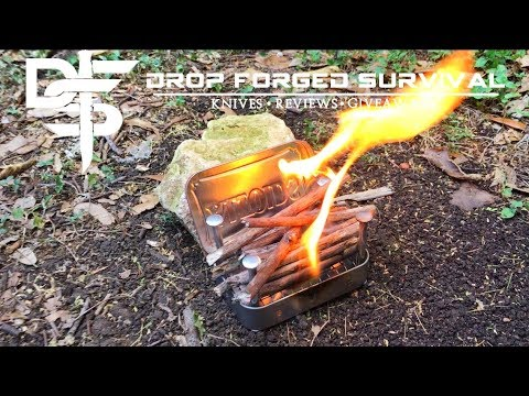 Best DIY Invention: Wood Burning Pocket Stove