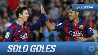 Todos los goles de fc barcelona (6-0) getafe cf