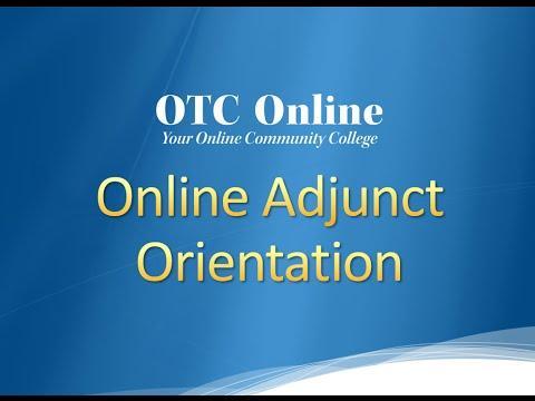 2016 Adjunct Online Orientation