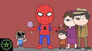AH Animasyonlu Peter Parker'ın Gizli -