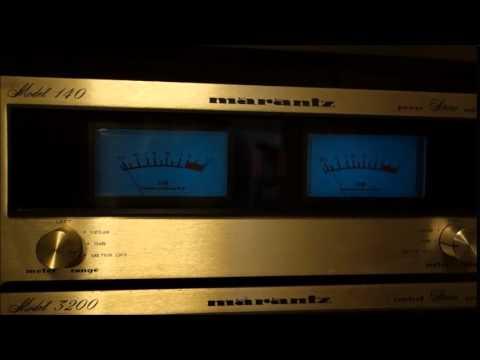 Marantz Model 3200 Model 140  JBL 4312 MkⅡ music by AnyoKing  Open Cafe