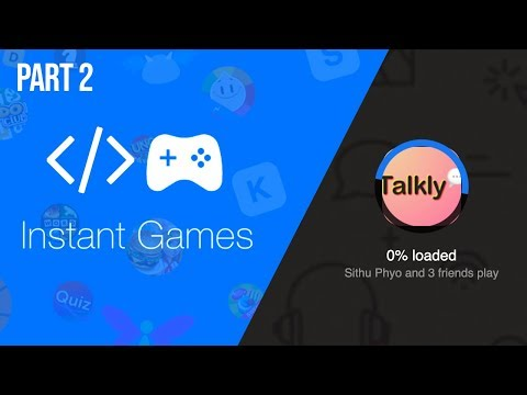 Load FBInstant SDK, Get Player ID and name, Facebook Instant Game Development Tutorial Part 2 thumbnail