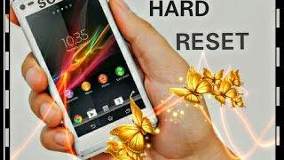 hard reset sony xperia m5 m4 m2 z5 z4 z3 z2 z1 l m s sp x