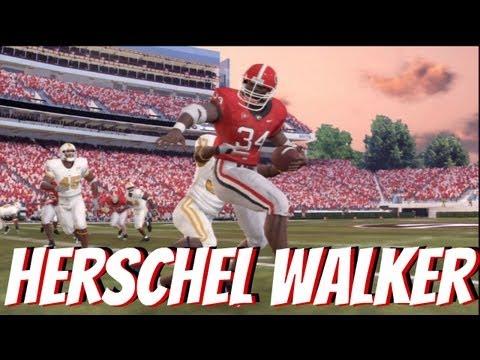 Herschel Walker Usfl Highlights Hd Doovi