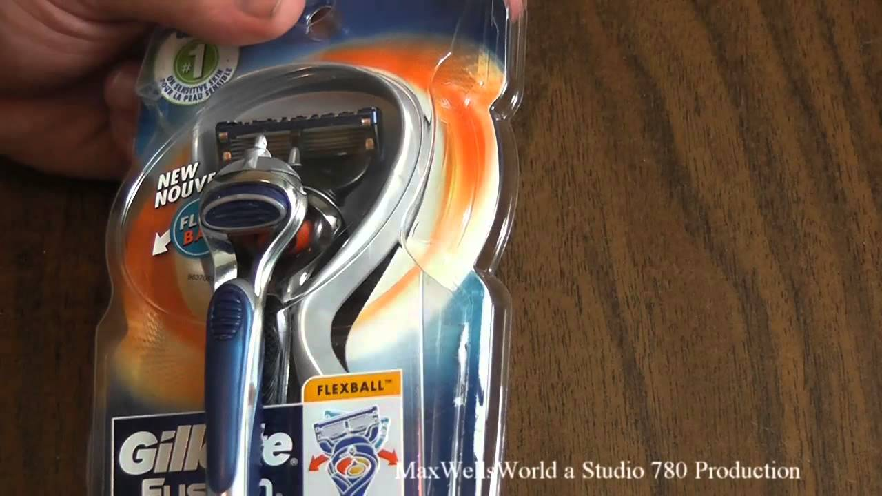 Gillette fusion proglide manual razor with flexball technology - Unboxing And First Look Gillette Fusion Pro Glide Flex Ball Razor Maxwellsworld