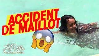 #LaVilla3 😂 OOPS : Mélanie A POIL dans la piscine ?