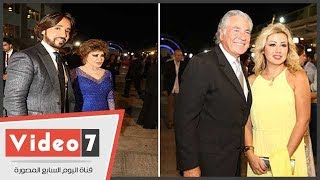 النجوم تتألق فى حفل افتتاح مهرجان الإسكندرية
