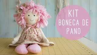 Anita Catita – Kit Boneca de Pano