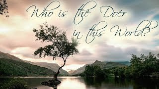 Who is the Doer in this World?