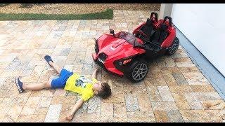 قواعد السلوك في السيارات. مجموعة من أشرطة الفيديو للأطفال