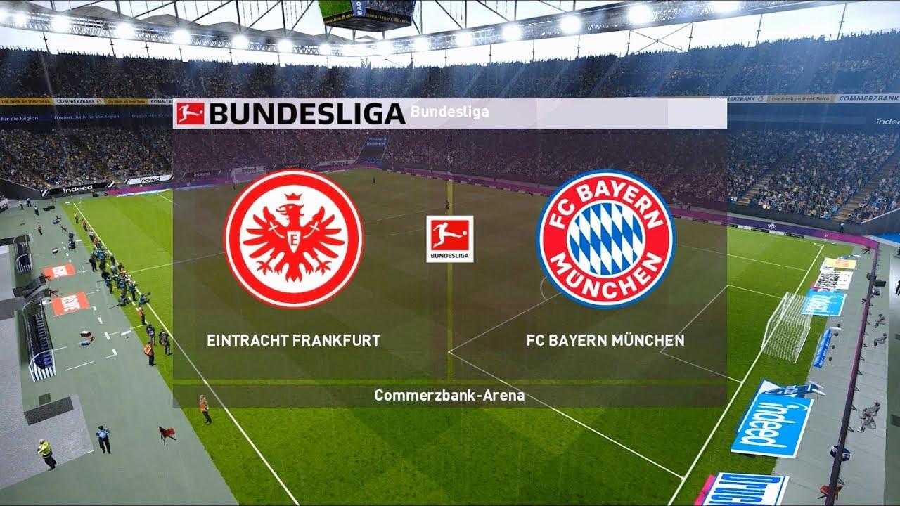 Eintracht Frankfurt vs Bayern Munich | Commerzbank-Arena ...