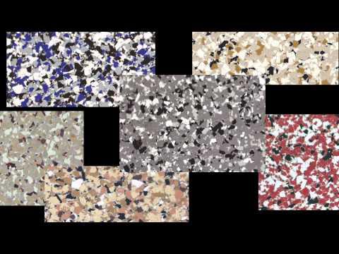 Epoxy Garage Floor Flake Chips Coating Kit
