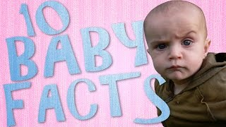 10 Cute Baby Facts | Fun Newborn Babies Fact Video | Infant Facts You Didn't Know
