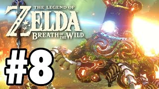 Inside HYRULE CASTLE - The Legend Of Zelda: Breath Of The Wild - Gameplay Part 8 (Switch)