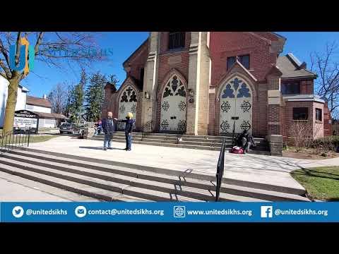 UNITED SIKHS At Grace United Church, Brampton ON