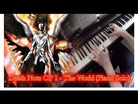 Death Note OP 1 - The World (Piano Solo)