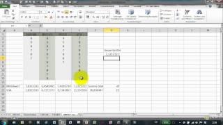 Excel # 253 - ANOVA - Einfaktorielle Varianzanalyse