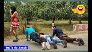 Must Watch Funny😂 😂Comedy Videos 2019 - Episode 10 || Fun Ki Vines ||