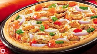 Chicken Pizza | Vegetable Pizza | Start To Finish Recipe By Sharmilazkitchen