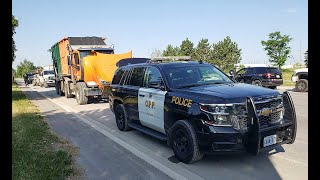 TWO-DAY TRUCK SAFETY BLITZ: Caldeon Opp remove 35 heavy vehicles off the road