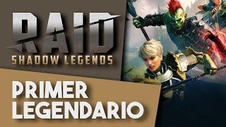 RAID: SHADOW LEGENDS | No me lo creo, el PRIMER LEGENDARIO y siendo F2P