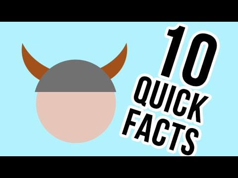 10 quick facts about Vikings - YouTube