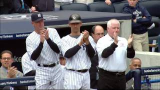 2010 Yankees Championship Ring Ceremony - Part 1
