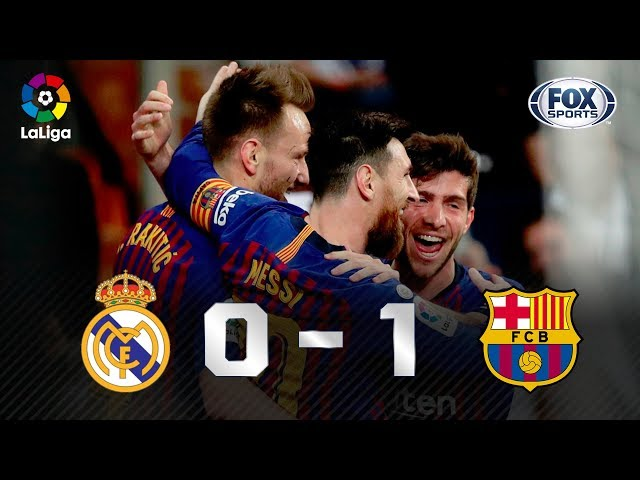 BARCELONA BATE O REAL MADRID NO BERNABÉU; VEJA OS LANCES!