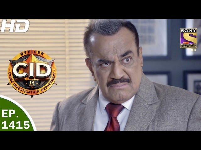 CID - सी आई डी - Ep 1415 - Jungle Ka Kahar -1st Apr, 2017