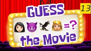 Can You Guess All The Movies? | Emoji Challenge 13 😃