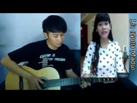 natan fingerstyle ft lia gula madu  sid  sunset