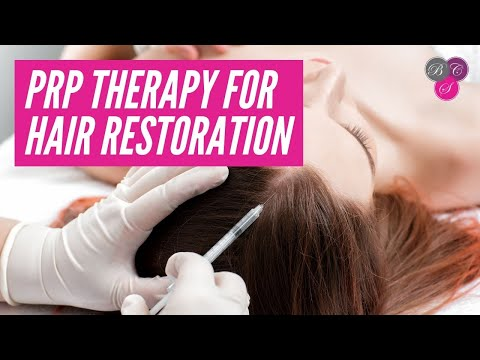 How Platelet Rich Plasma (PRP) Therapy Works on Hair Restoration