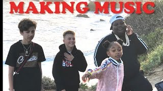 Making A Music Video (Ft. That Girl Lay Lay, Lil Terrio & Lil Blurry)