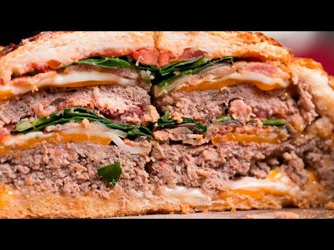 Double Cheeseburger Bread Bowl